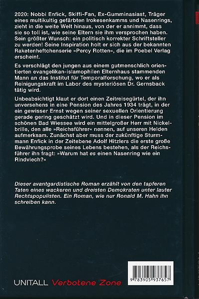 Leseprobe von Edition VZ, Band 8 - Captain Enfick, Temponaut: Die Stahlfront-Akten