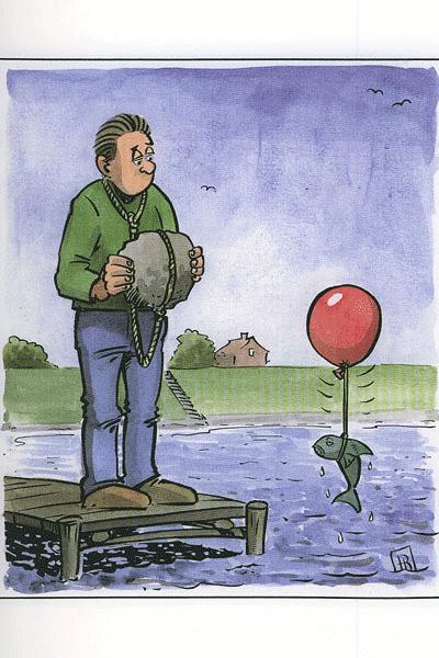 Leseprobe von Wollen Sie eine Tüte?, Cartoon -