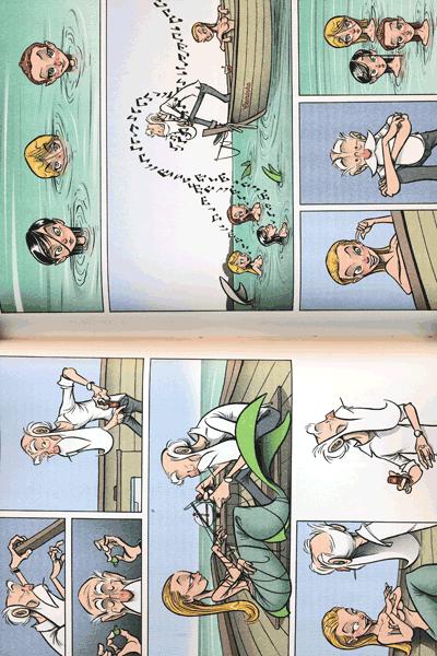 Leseprobe 3 von Das KABINETT der WUNDER, Einzelband -