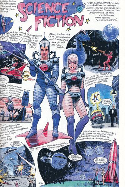 Leseprobe 1 von Comic Welten, Einzelband -