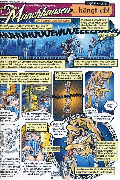 Leseprobe von U-Comix | 21. Jahrhundert, Band 186 - Magazin