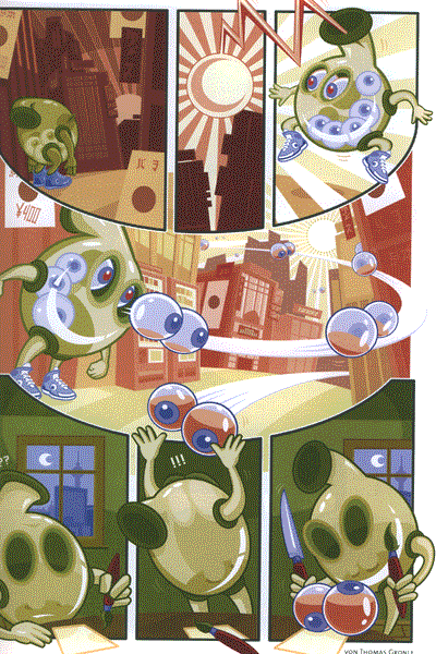 Leseprobe von COMIXENE, Band 95 - Comicfachmagazin