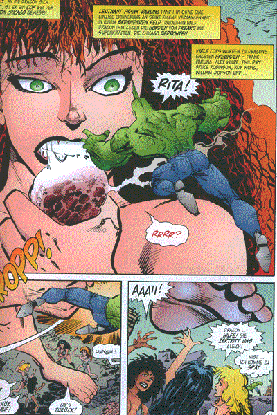 Leseprobe von Hit Comics, Band 36 - Savage Dragon