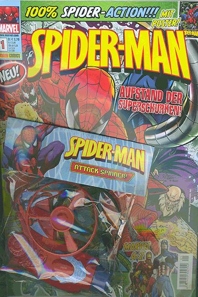 Leseprobe von Spider-Man Magazin, Band 1 - Marvel
