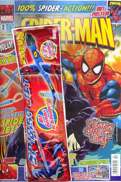 Leseprobe von Spider-Man Magazin, Band 2 - Venom greift ein!