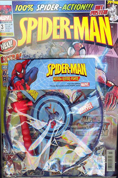 Leseprobe von Spider-Man Magazin, Band 3 - Weltraum Albtraum