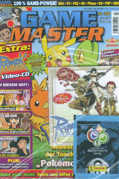 Leseprobe von Gamemaster, Band 3 - Juni/Juli 2006