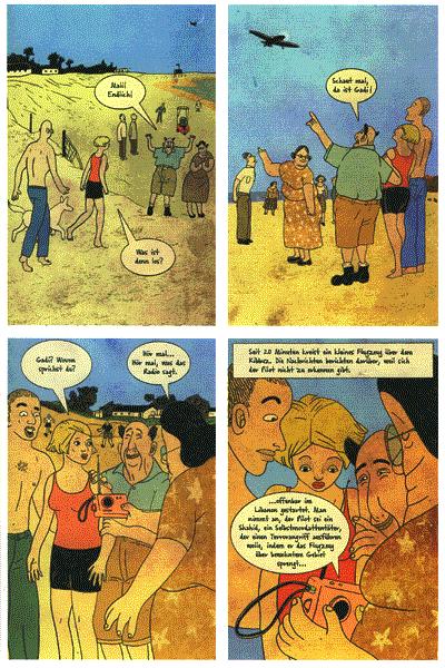 Leseprobe 1 von STRAPAZIN, Band 79 - Comicmagazin - Comics aus Tel Aviv