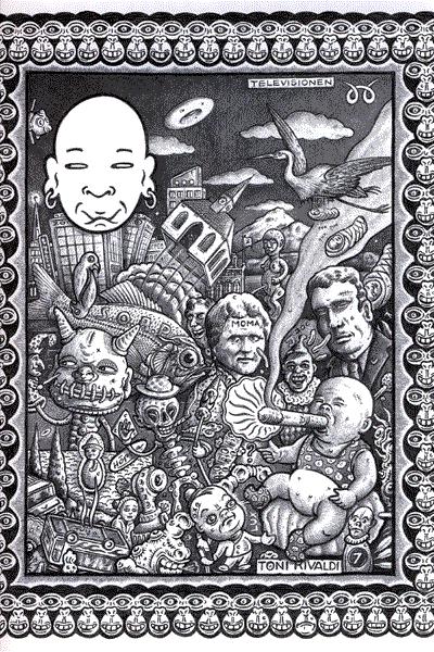 Leseprobe von STRAPAZIN, Band 80 - Comicmagazin - White Trash