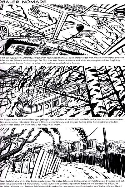 Leseprobe 2 von STRAPAZIN, Band 83 - Comicmagazin - Comics ohne Protagonisten