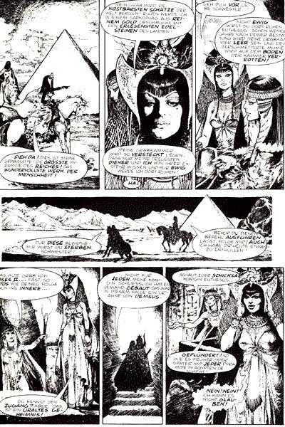 Leseprobe 1 von Schwermetall, Band 60 - Der Tempel des Vergessens, Milady, Adrenaline, . . .