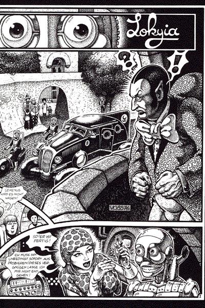 Leseprobe 1 von Schwermetall, Band 63 - Tempel des Vergessens, Innere Falle, Der Bus, . . .