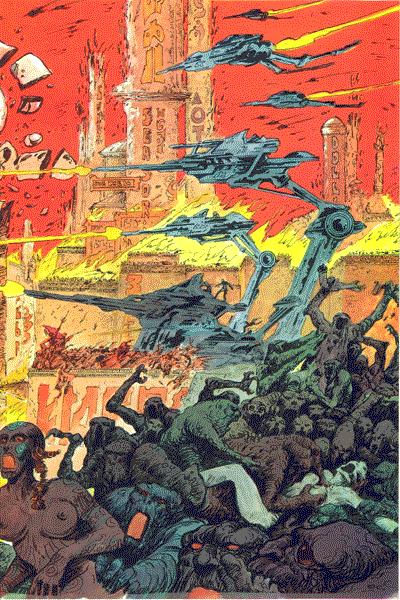 Leseprobe 2 von Schwermetall, Band 63 - Tempel des Vergessens, Innere Falle, Der Bus, . . .