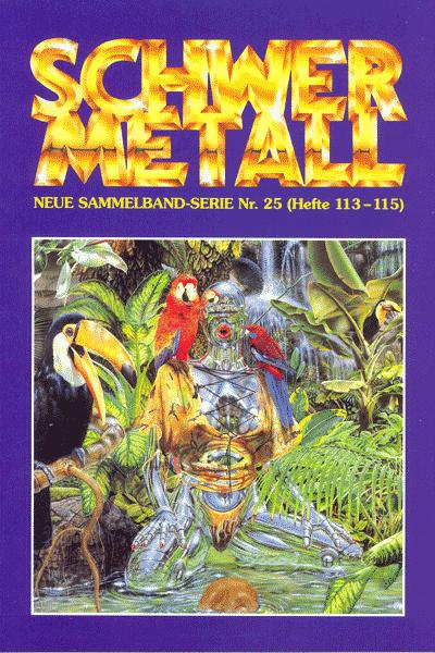 Leseprobe von Schwermetall - Sammelband, Band 25 - Onan der Barbar, Der große Kristall, Burton & Cyb, . . .