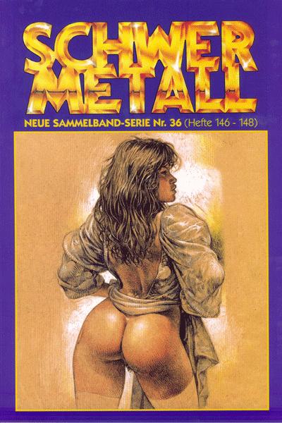 Leseprobe von Schwermetall - Sammelband, Band 36 - Sandra Bodyshelly, Rattenfalle, Spaced Out, ...