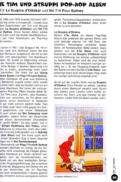 Leseprobe von Tim das Magazin, Band 20 - Frühjahr 2007