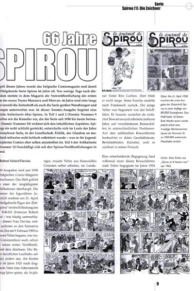 Leseprobe von XOOMIC, Band 8 - Comicfachzeitschrift